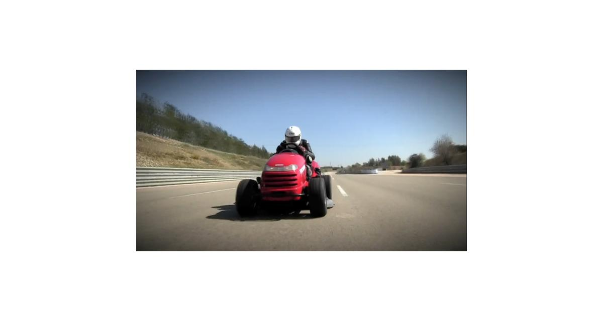 Honda Mean Mower : 188 km/h en tondeuse