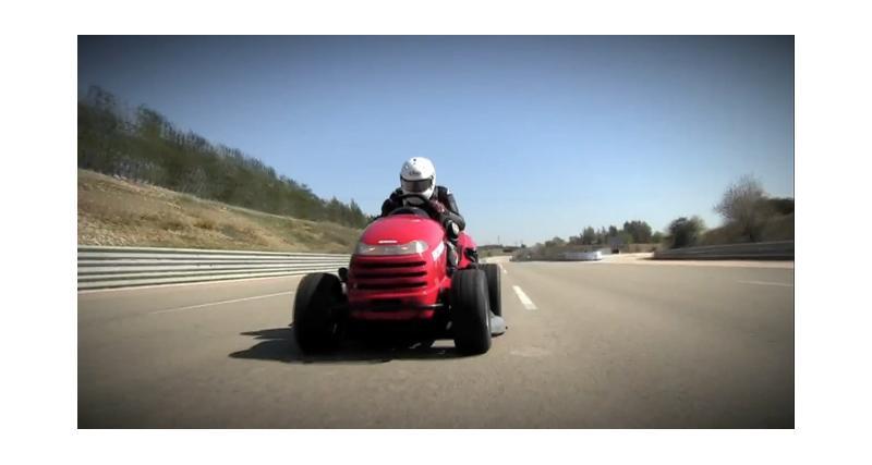 Honda Mean Mower : 188 km/h en tondeuse