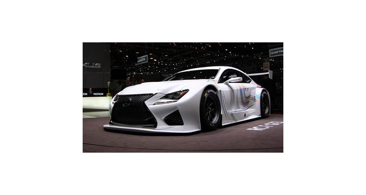 Salon de Genève 2014 : Lexus RC F GT3 Concept