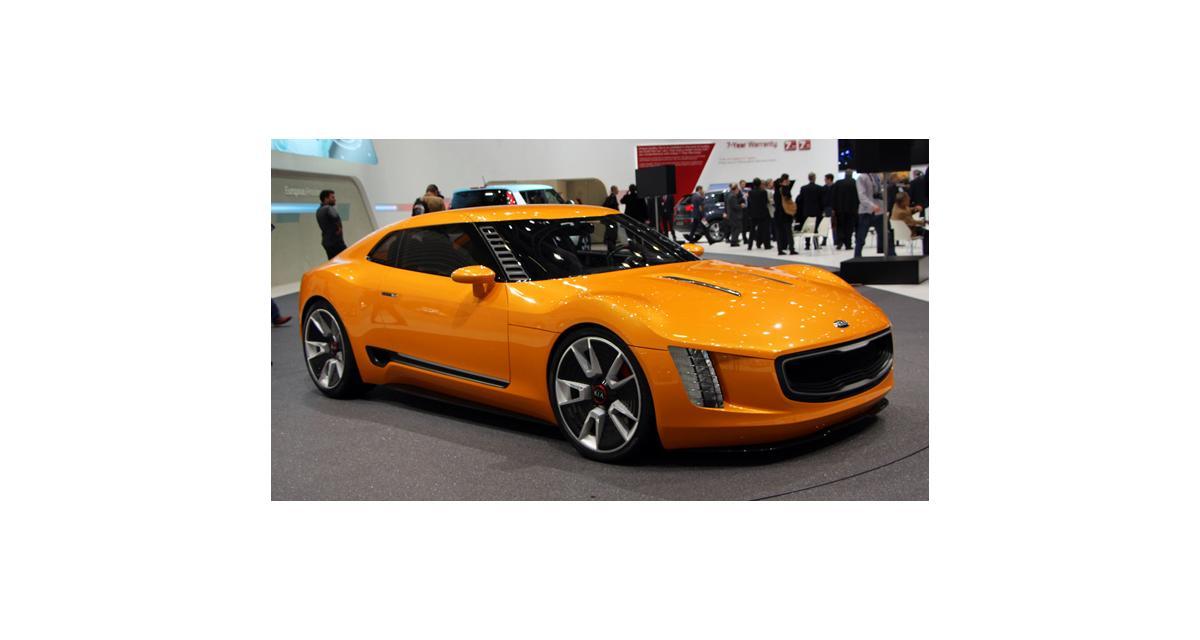Genève 2014 : Kia GT4 Stinger