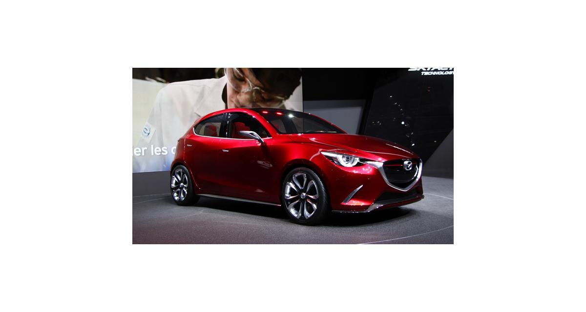 Salon de Genève 2014 : Mazda Hazumi concept