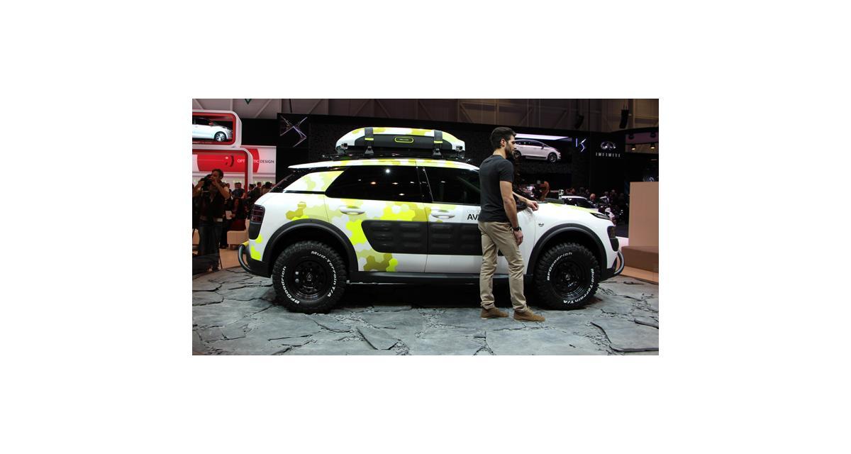 Salon de Genève 2014 : la Citroën C4 Cactus Aventure en direct