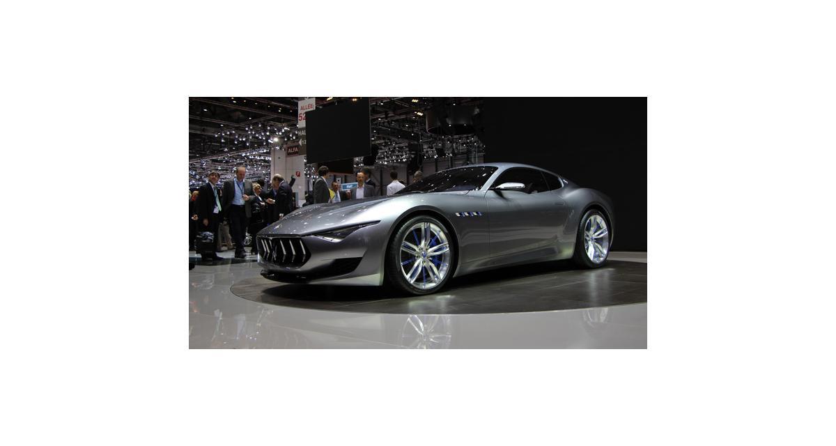 Salon de Genève 2014 : la Maserati Alfieri concept en direct