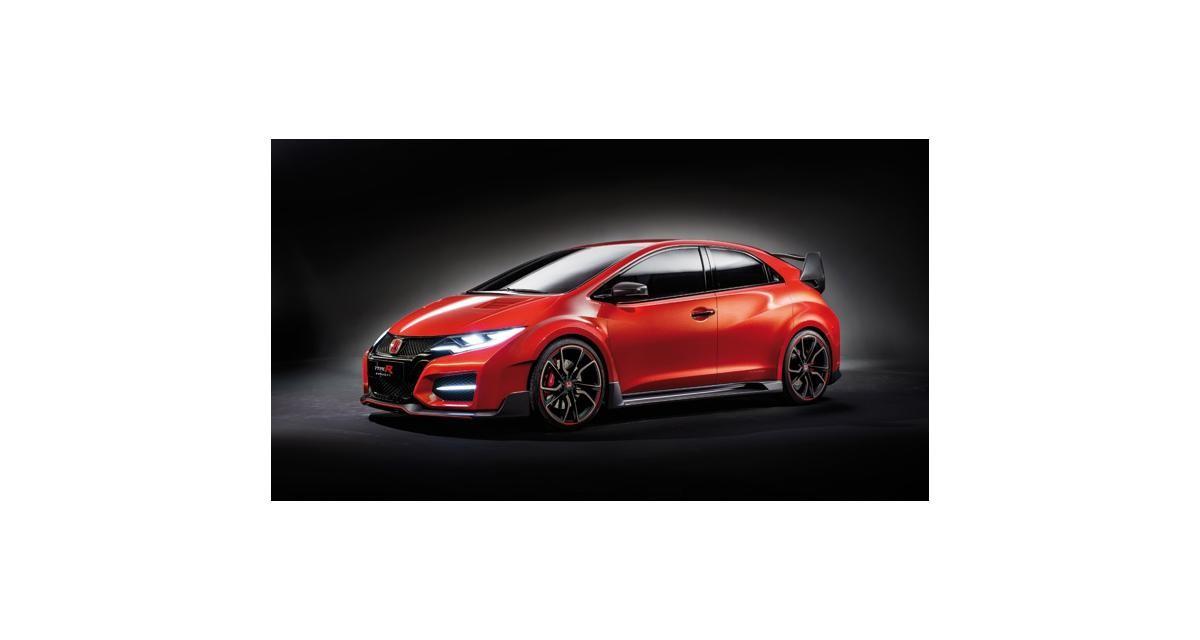 Salon de Genève en direct : Honda Concept Civic Type R