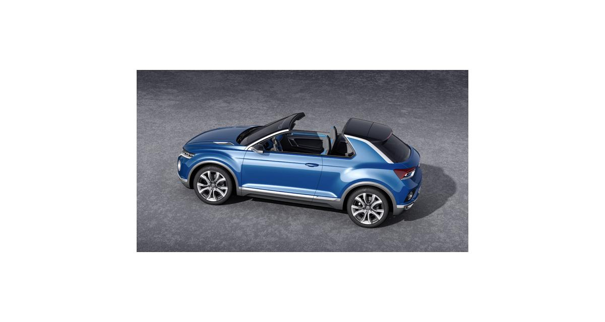 Salon de Genève en direct : Volkswagen T-ROC Concept