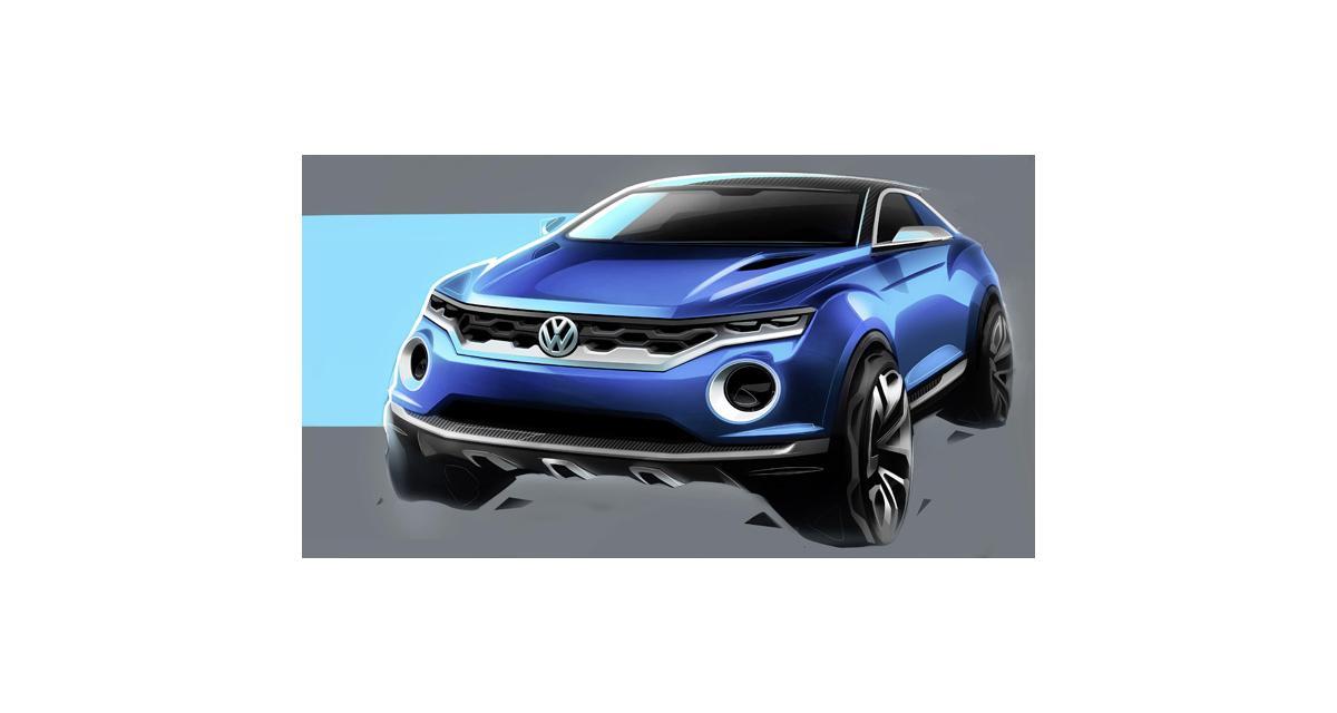 Genève 2014 : Volkswagen T-ROC