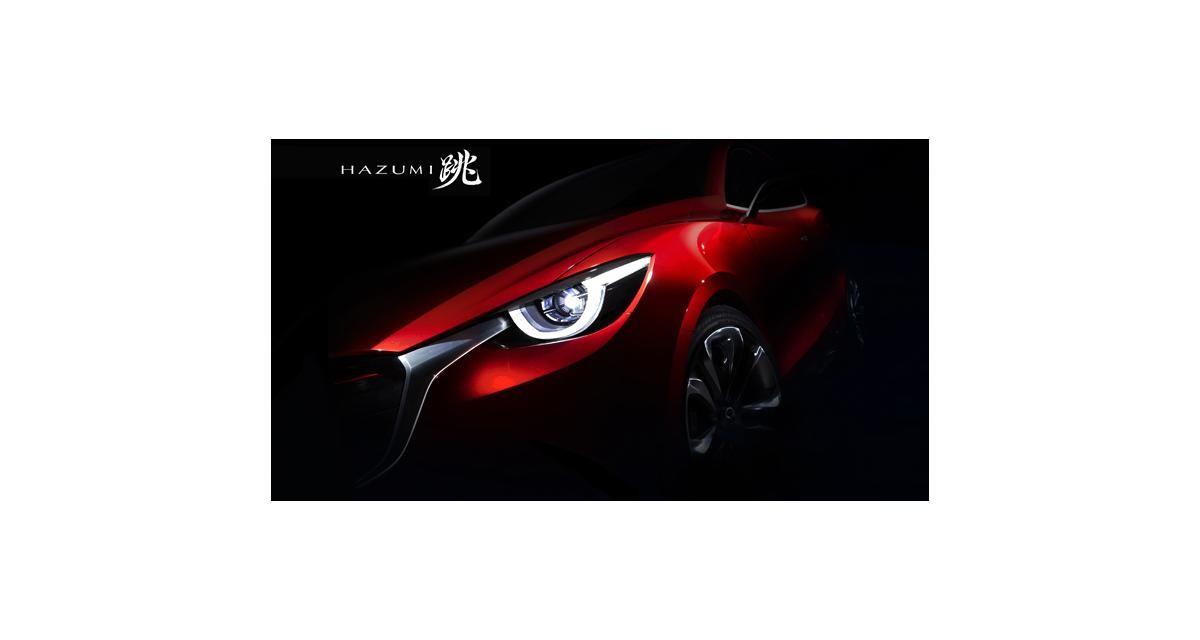 Mazda Hazumi Concept : la Mazda2 s'annoncera à Genève