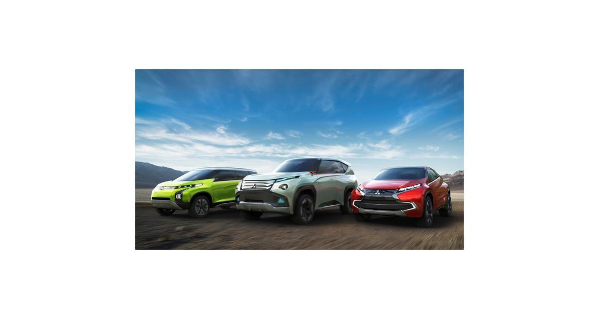 Genève 2014 : Mitsubishi et ses trois concepts hybrides