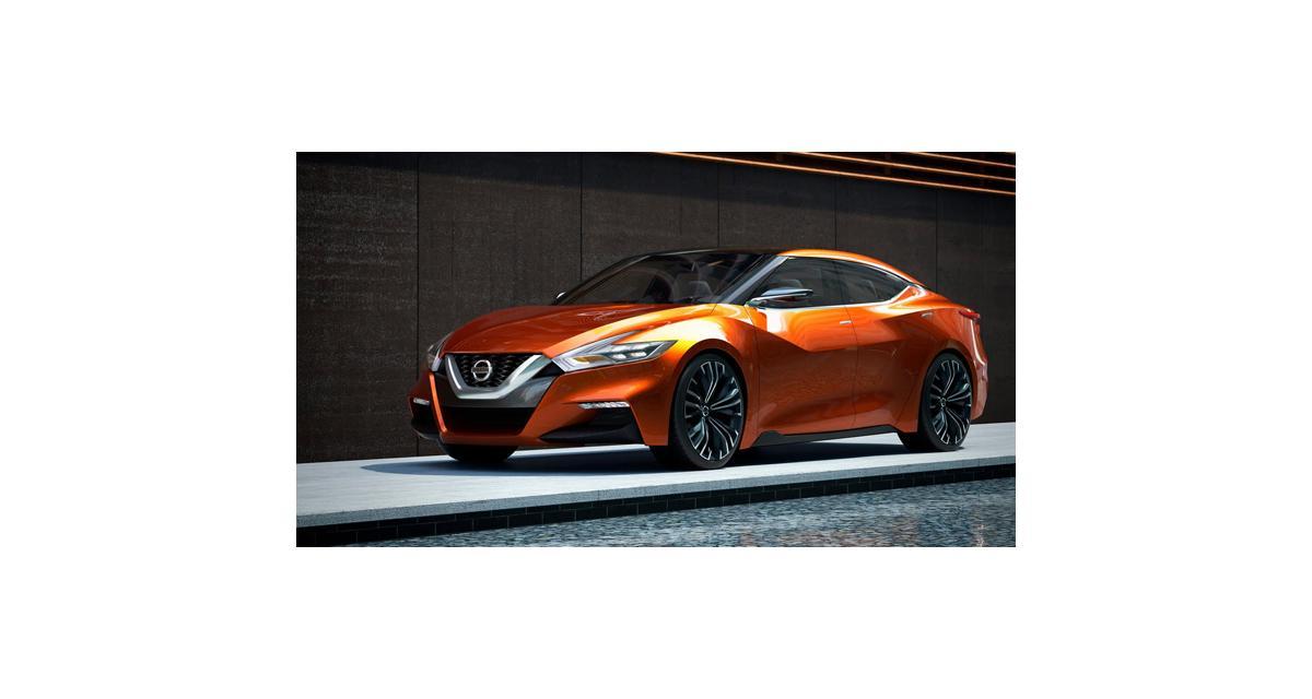Nissan Sport Sedan Concept : la Maxima se dévergonde
