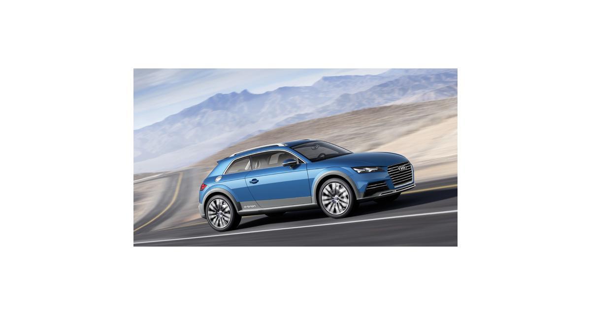 Detroit 2014 : Audi Allroad Shooting Brake, le TT en filigrane