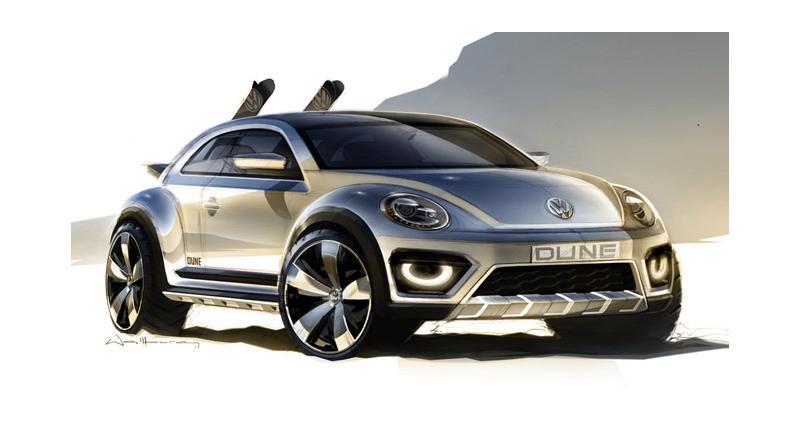 Detroit 2014 : Volkswagen Beetle Dune