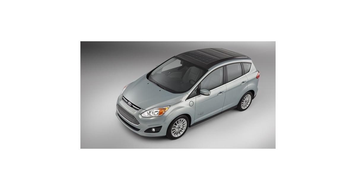 Ford C-Max Solar Energi Concept : monospace au zénith
