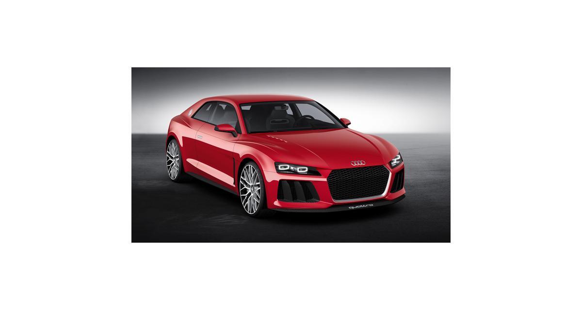 Audi Sport Quattro Laserlight Concept : des lasers dans les phares