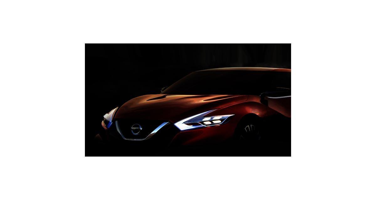 Detroit 2014 : un concept de berline sportive chez Nissan