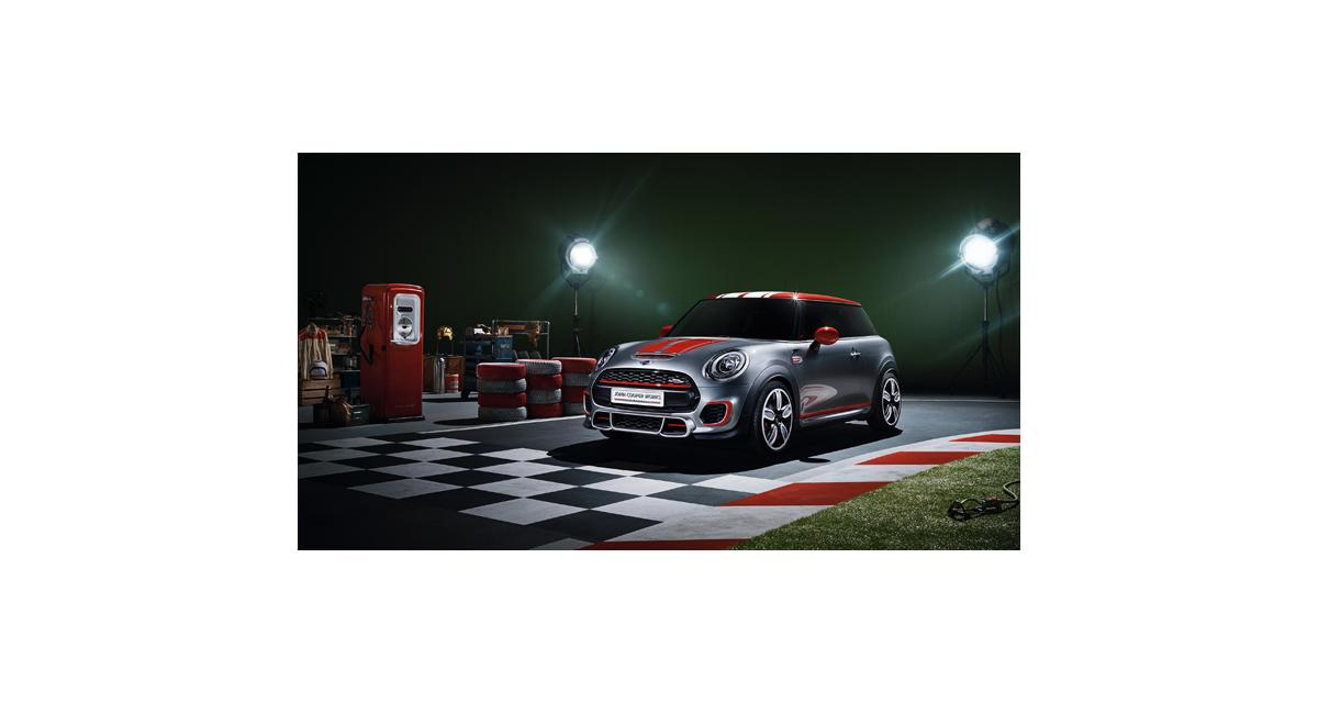 Detroit 2014 : Mini John Cooper Works Concept