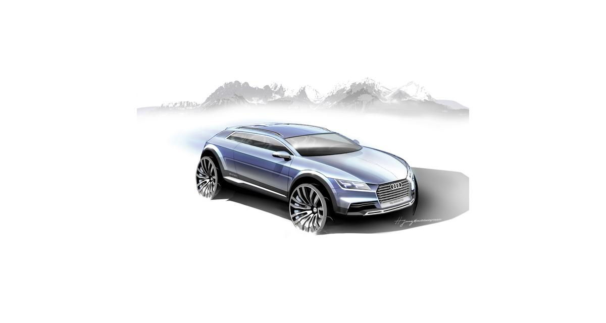 Audi : un concept de crossover à Detroit
