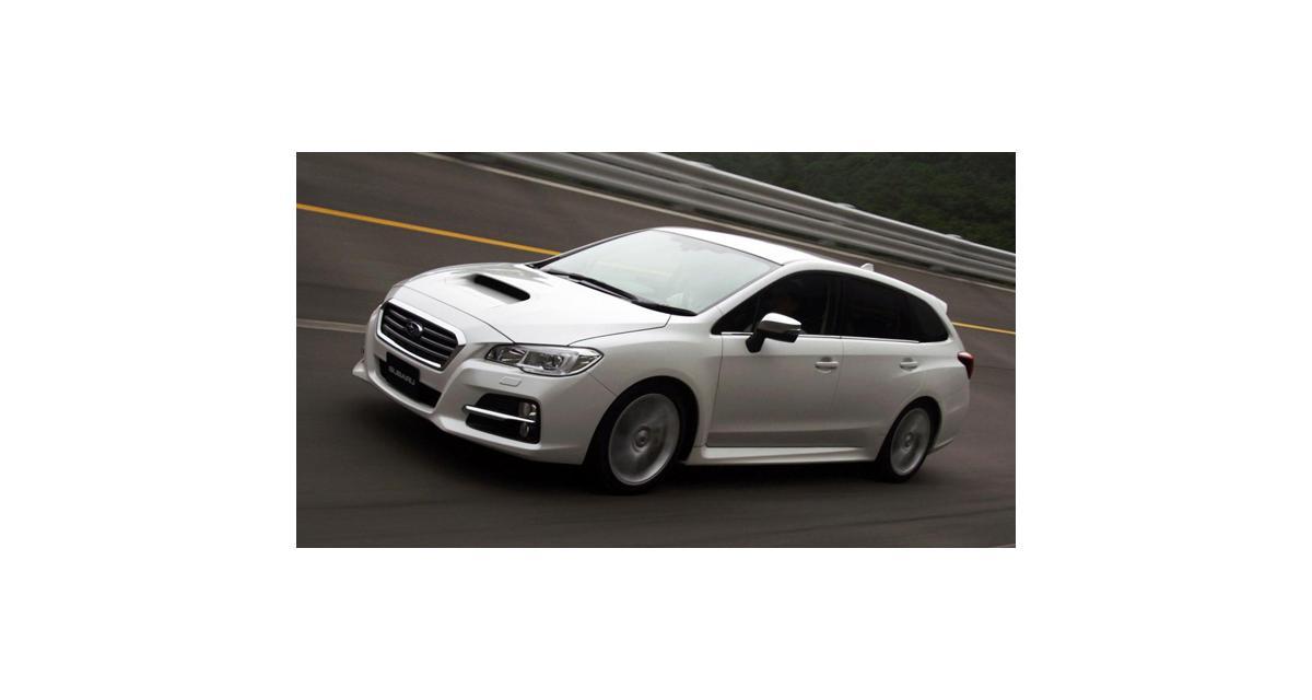 Subaru Levorg concept : Legacy ou Impreza break ?