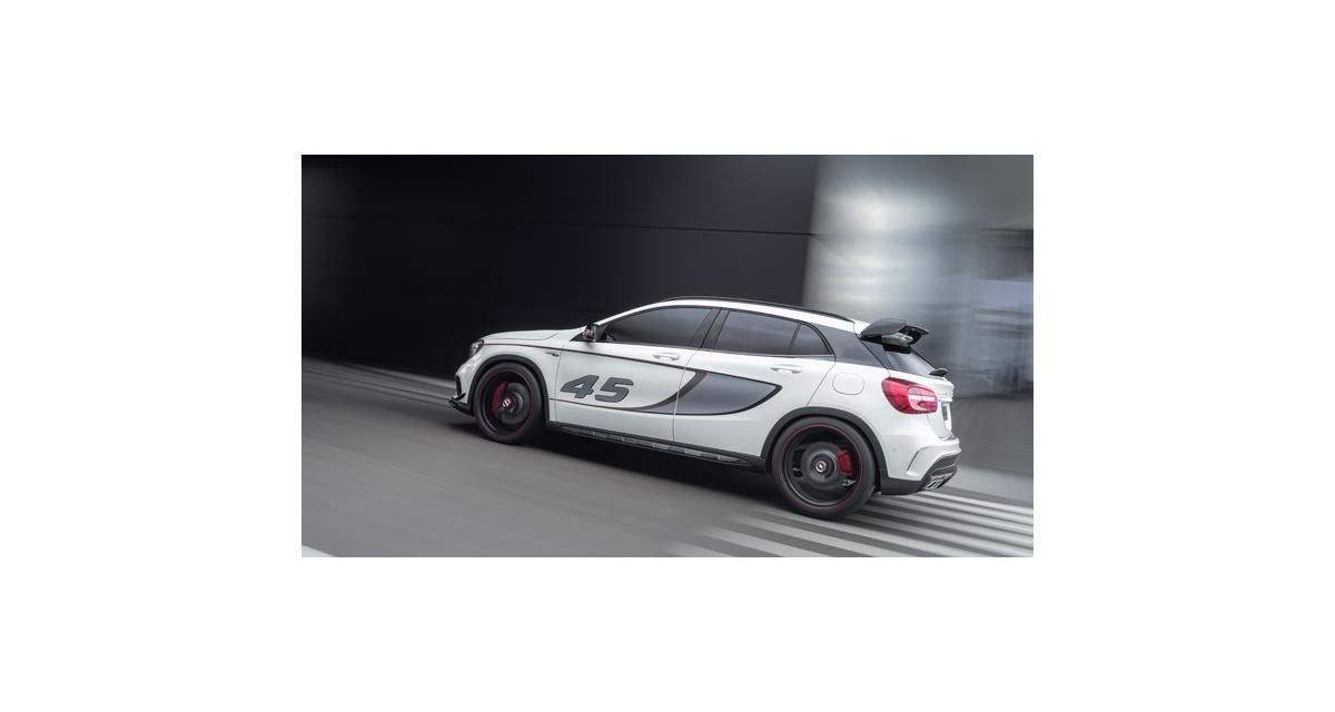 Los Angeles 2013 : Mercedes GLA 45 AMG Concept