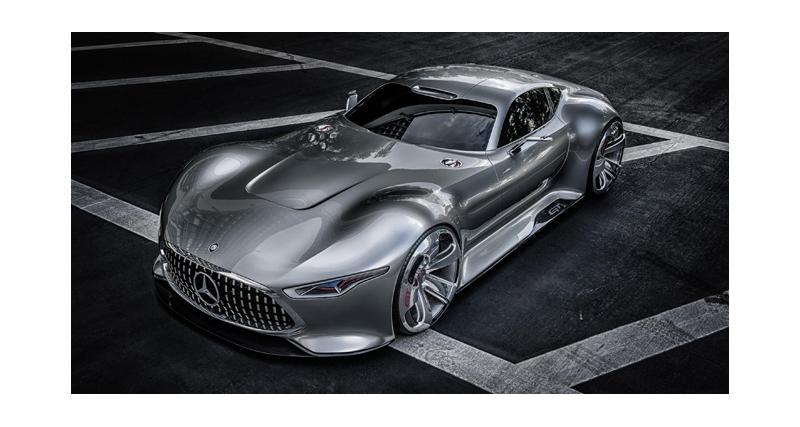 Mercedes AMG Vision Gran Turismo : supercar virtuelle