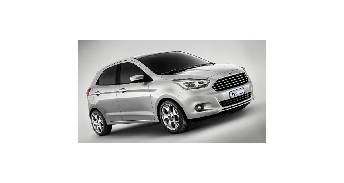 Ford Ka Concept : changement de perspective
