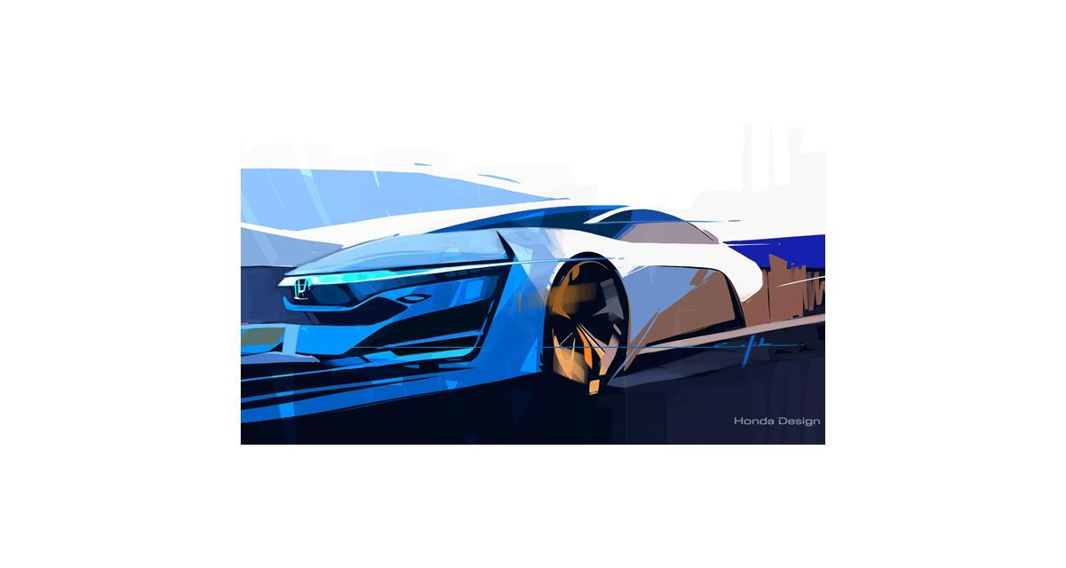 Honda FCEV Concept : la remplaçante de la FCX Clarity à Los Angeles