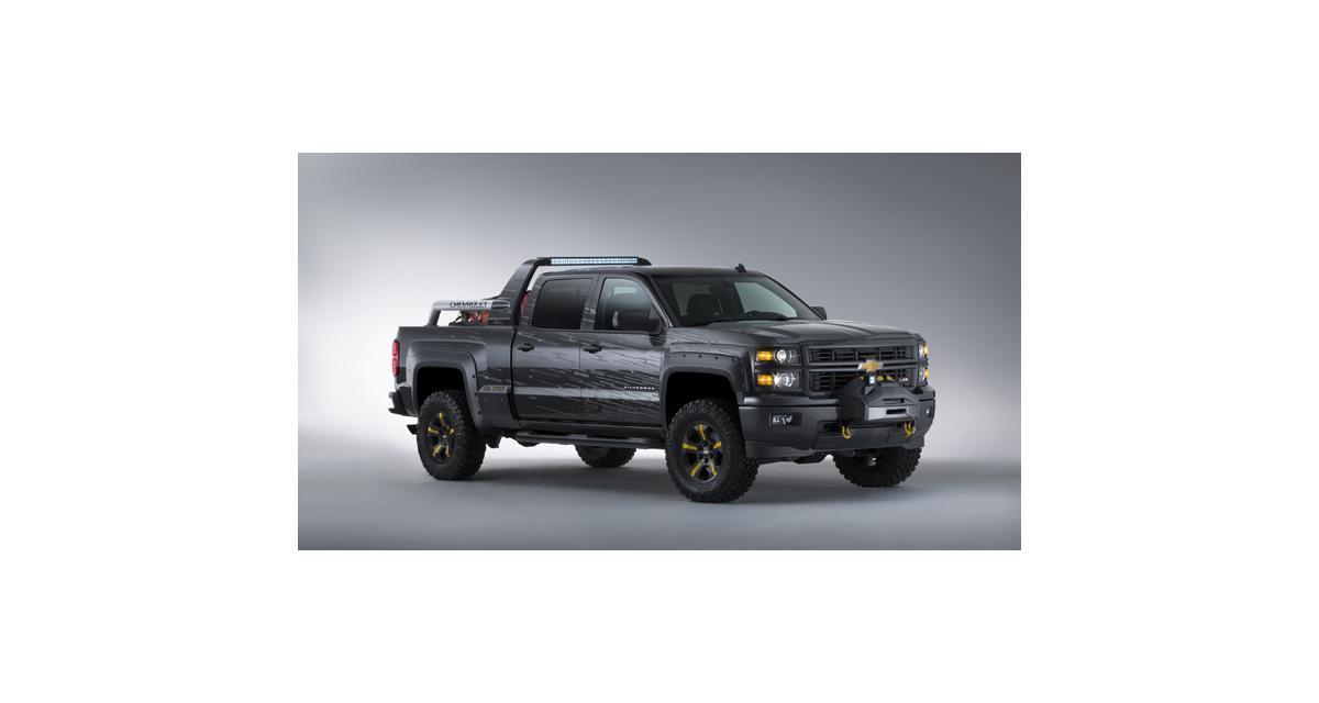 Chevrolet Silverado Black Ops Concept : le survivant