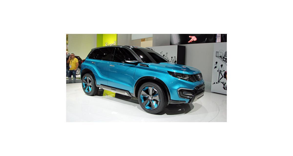 Salon de Francfort en direct : Suzuki iV-4 Concept