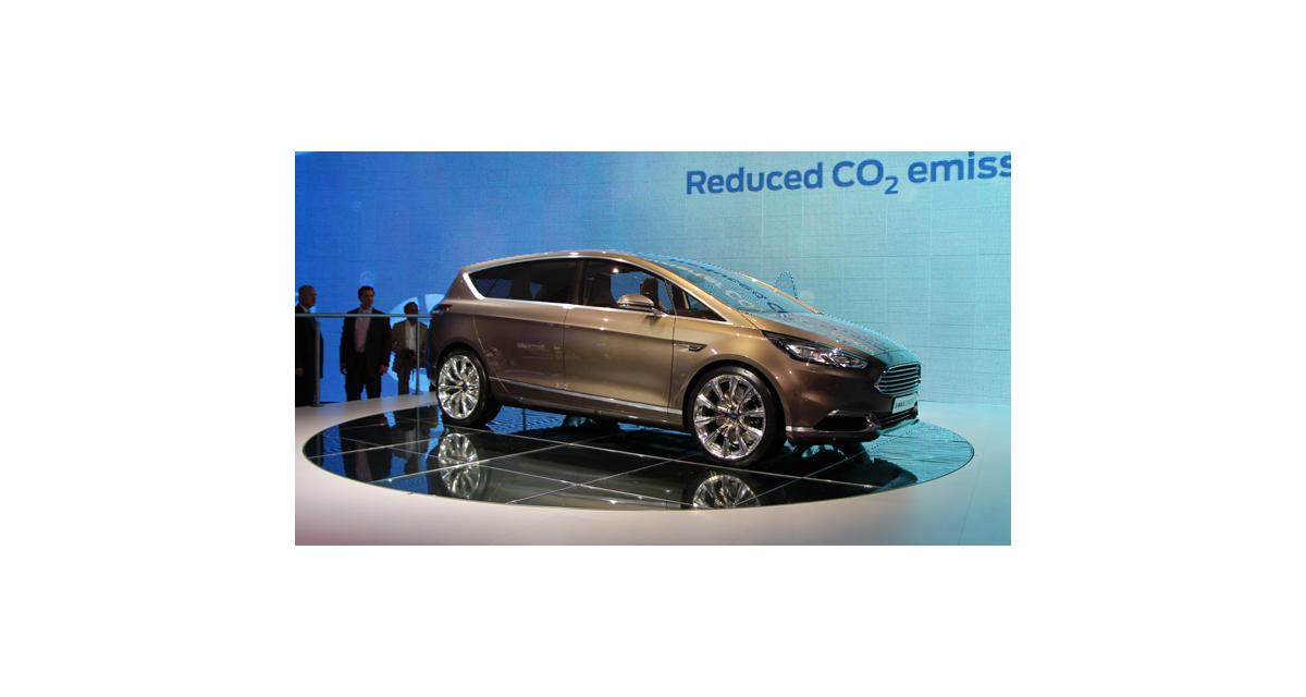 Salon de Francfort en direct : Ford S-Max Concept