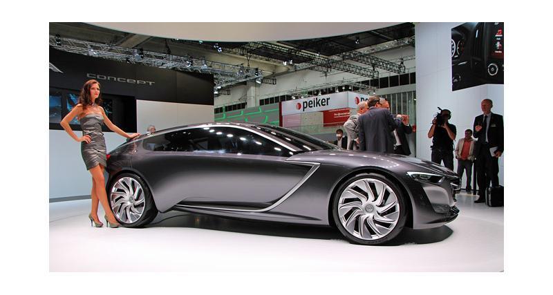 Salon de Francfort en direct : Opel Monza Concept