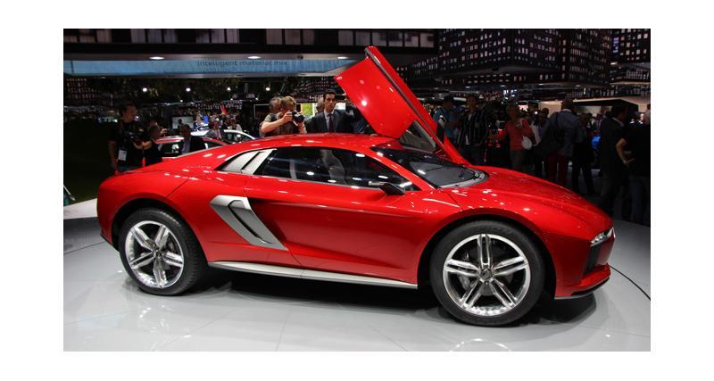 En direct de Francfort : Audi Nanuk Quattro Concept
