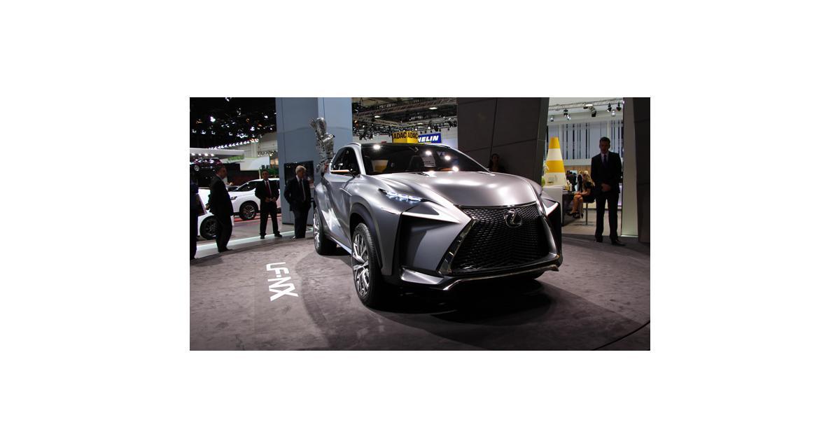 En direct de Francfort : Lexus LF-NX