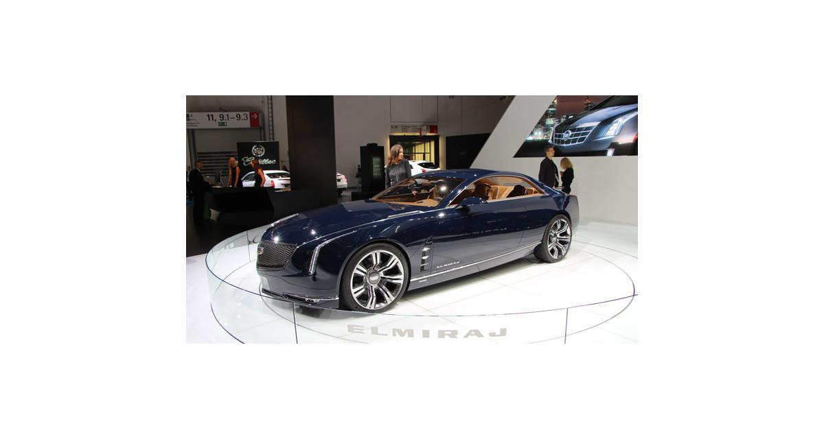 Francfort 2013 : Cadillac Elmiraj