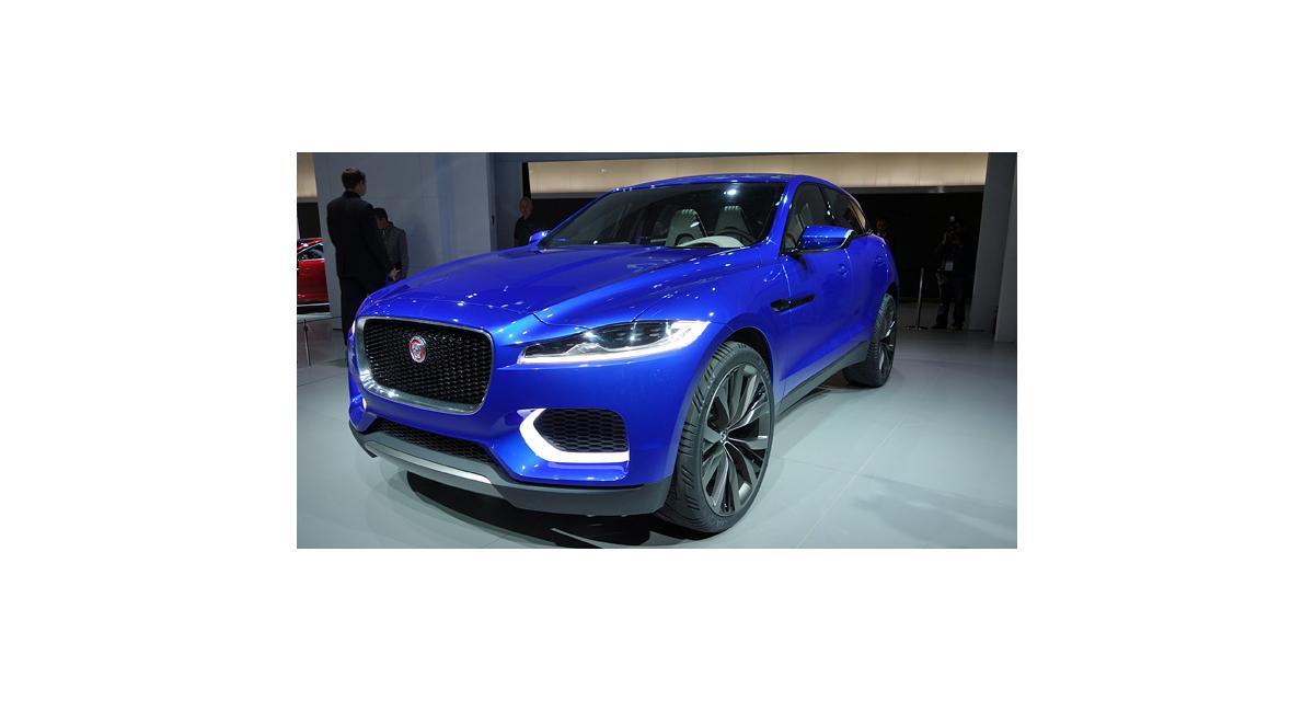 Salon de Francfort en direct : Jaguar C-X17 Concept