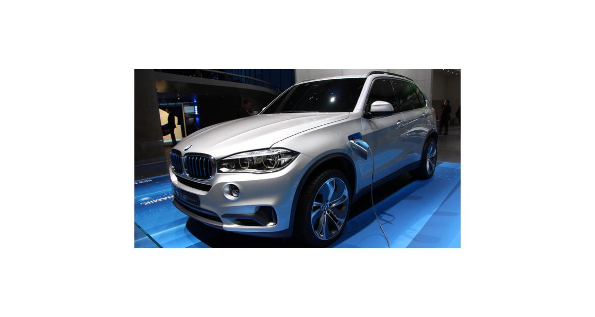 Salon de Francfort en direct : BMW X5 eDrive Concept