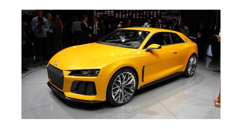 Salon de Francfort en direct : Audi Sport Quattro Concept