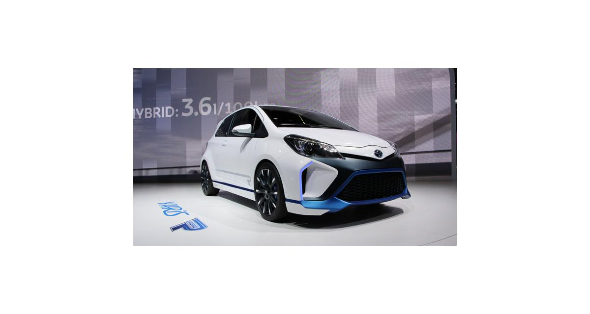 Salon de Francfort en direct : Toyota Yaris Hybrid-R