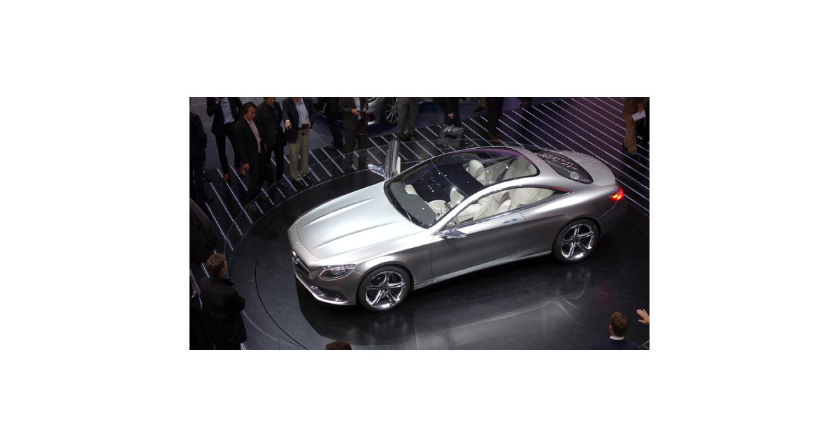 Francfort en direct : Mercedes Classe S Coupé Concept