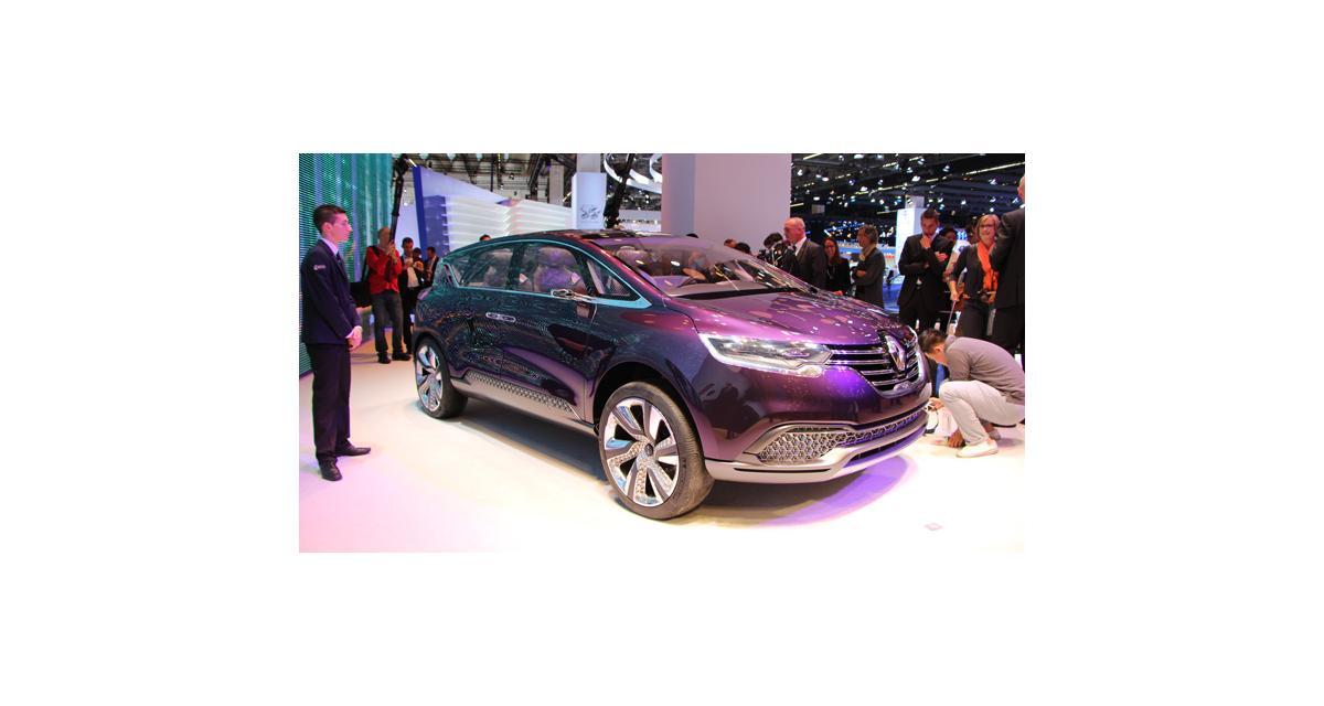 En direct de Francfort : Renault Initiale Paris