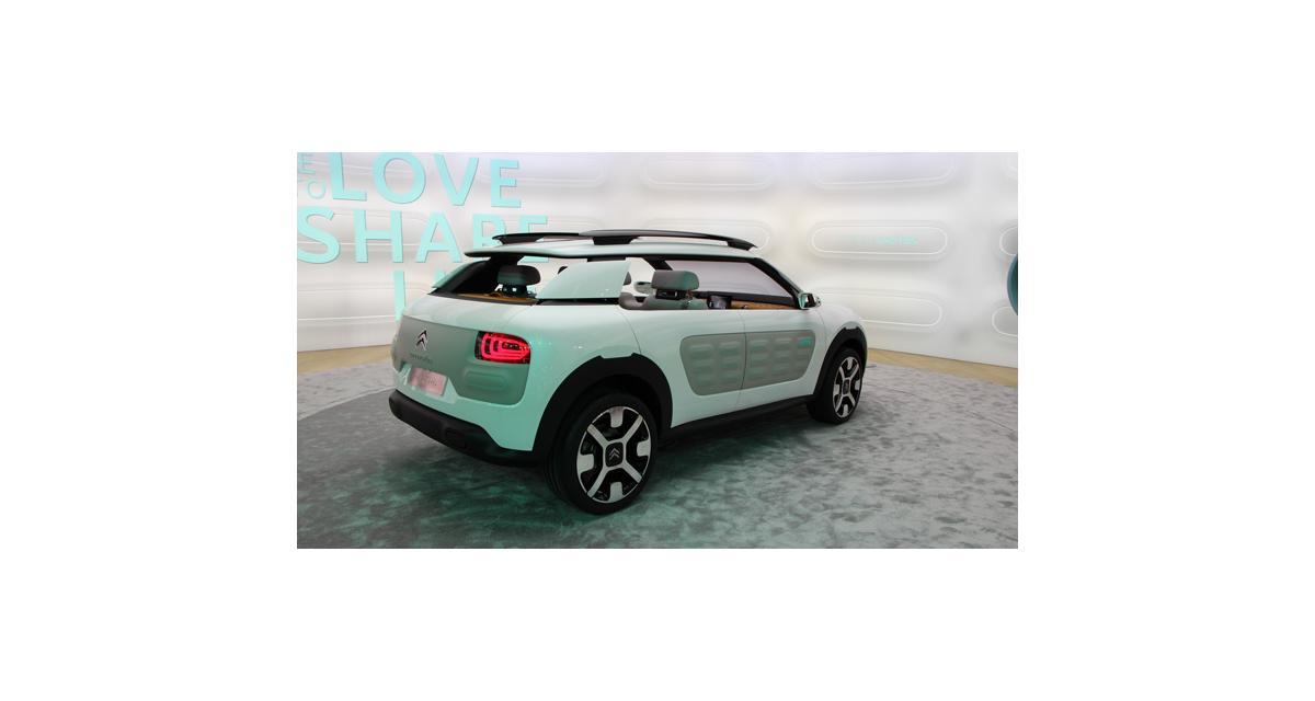 En direct de Francfort : Citroën Cactus Concept, toutes les photos