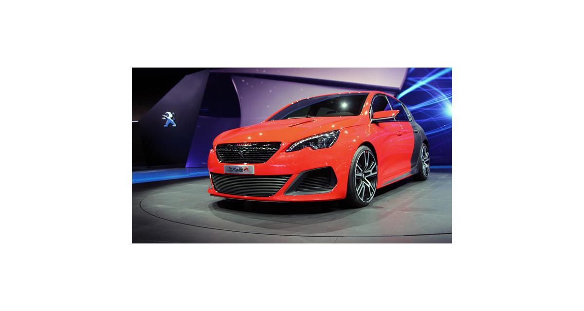 En direct de Francfort : Peugeot 308 R Concept