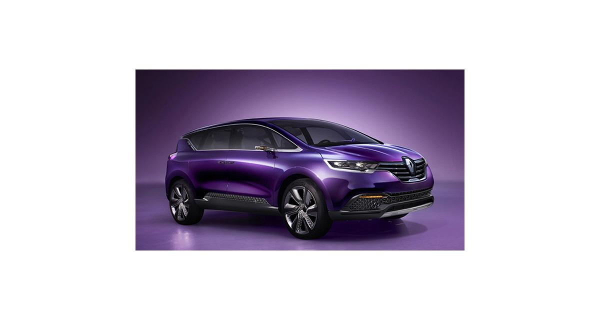 Renault Initiale Paris : l'Espace de retour à Francfort