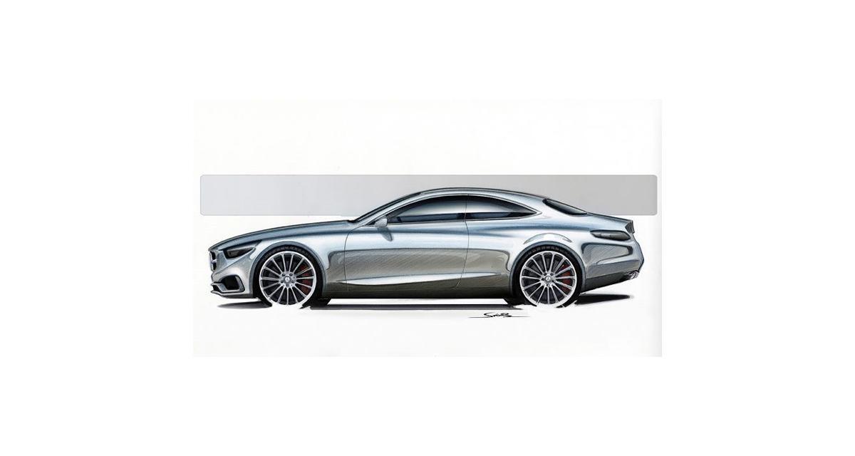 Mercedes Classe S Coupé : un concept à Francfort