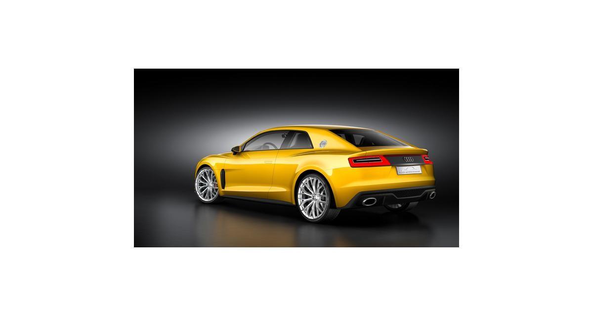 Audi Sport Quattro concept : un coupé hybride de 700 ch