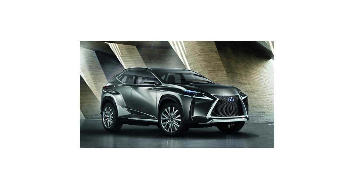 Lexus LF-NX : Un concept de SUV compact pour Francfort