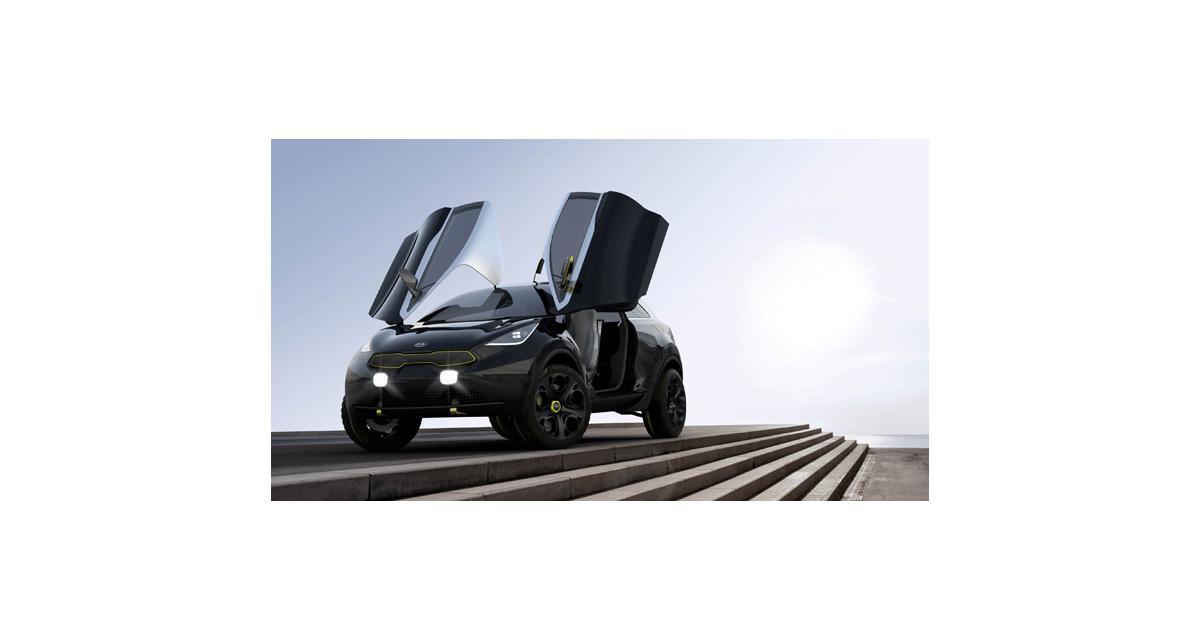 Francfort 2013 : Kia Niro Concept