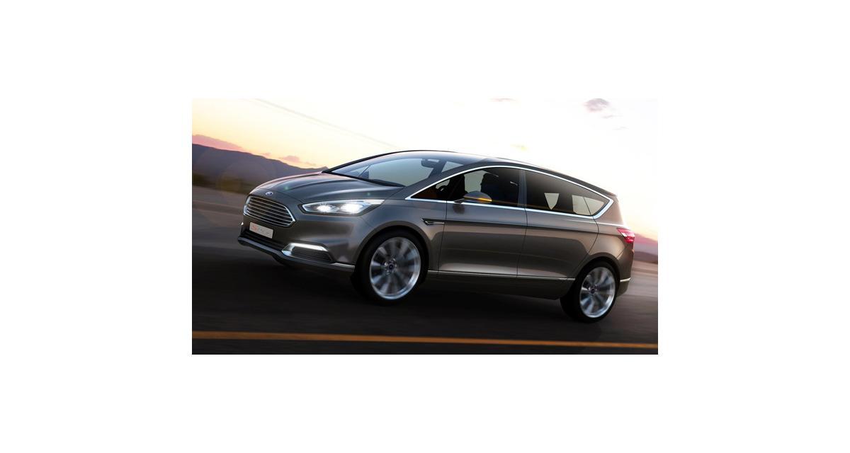 Ford S-Max Concept : en toute logique (Francfort 2013)