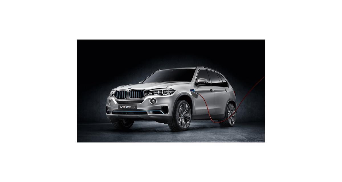 BMW X5 eDrive Concept : l'hybride rechargeable de Munich