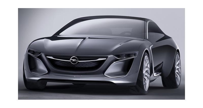 Opel Monza Concept : stylée et connectée (Francfort 2013)