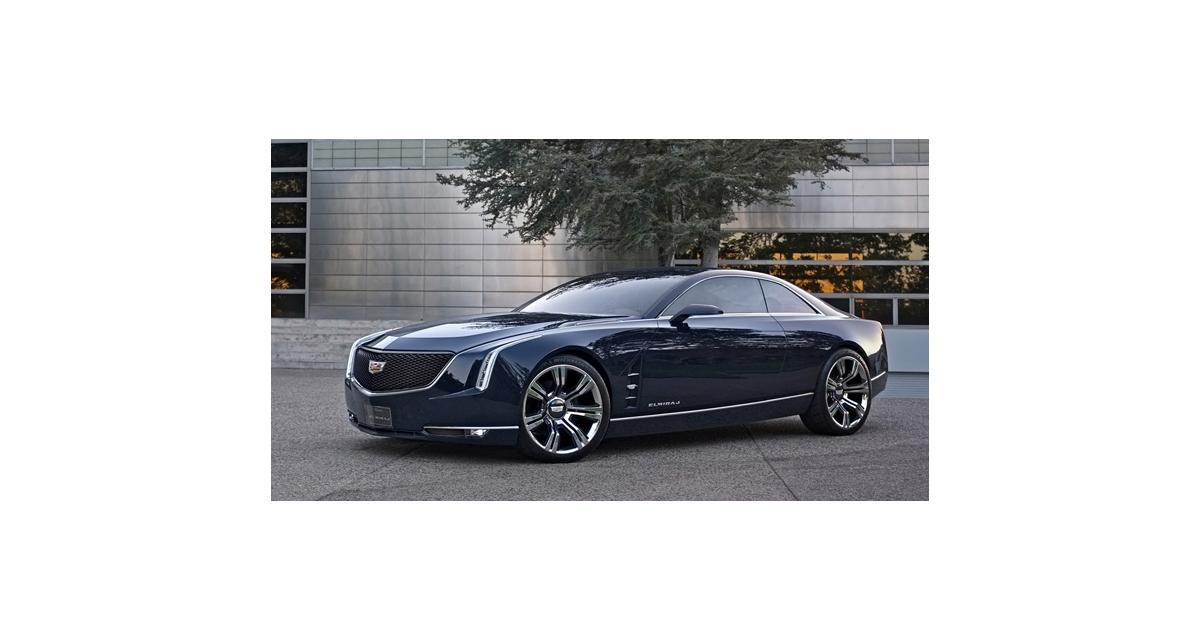 Cadillac Elmiraj Concept : retour en Eldorado