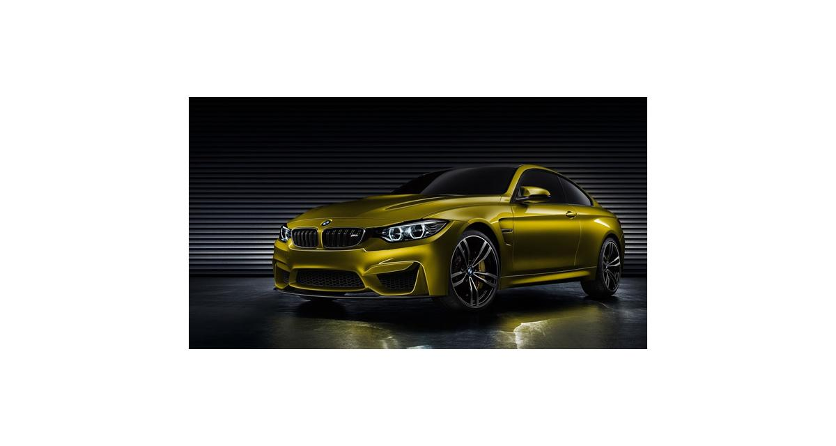 La BMW M4 dans les starting-blocks